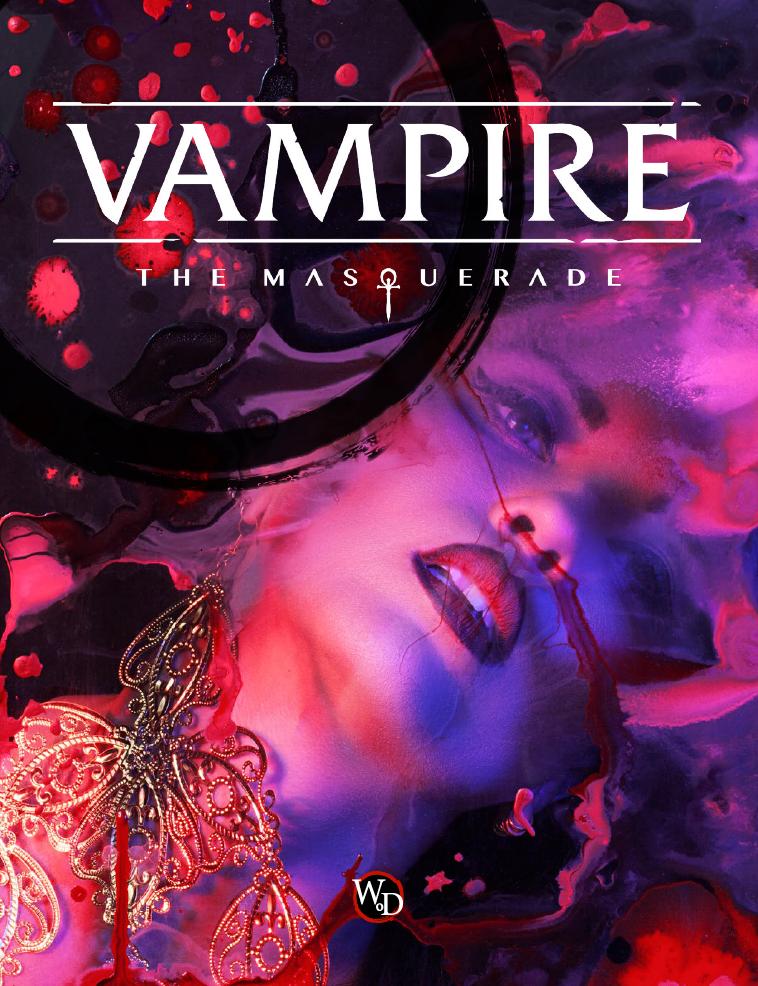 Vampire the Masquerade - Los Mejores Juegos de Rol del 2018