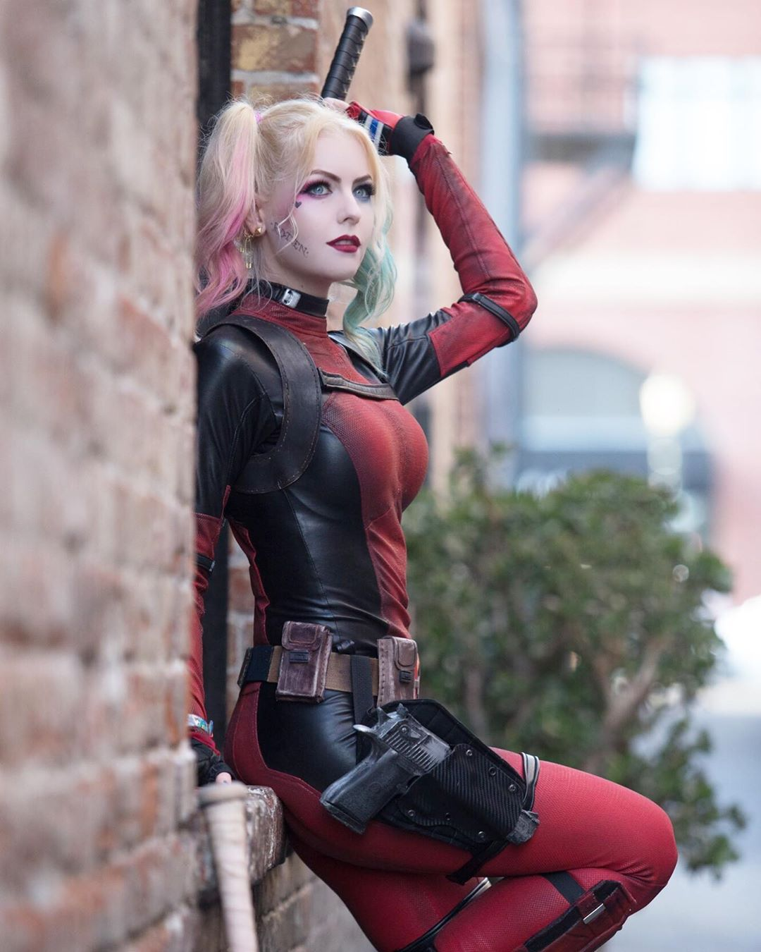 Lady Deadpool - Harley Quinn Mashup 2 por Maid of Might