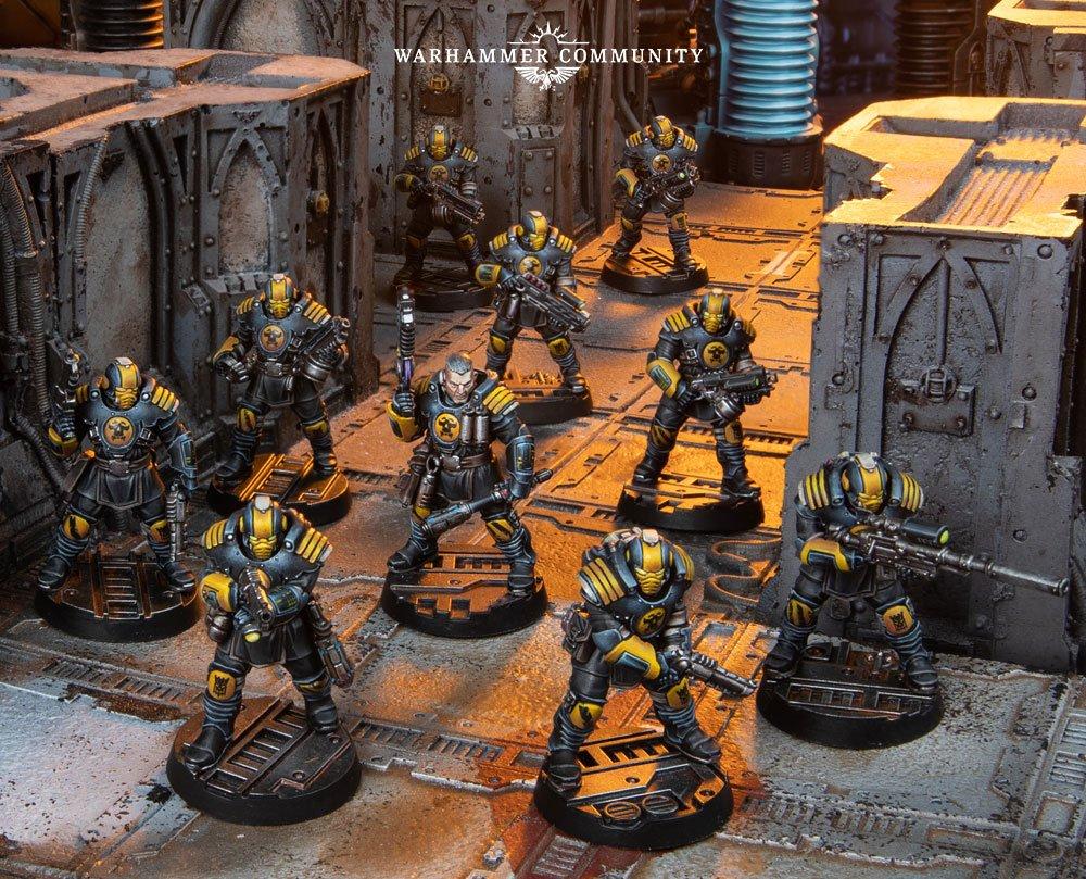 Necromunda: Palanite Enforcer Patrol