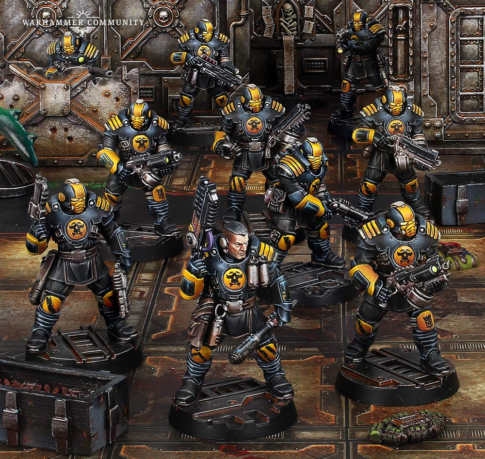 Necromunda Palanite Enforcer Patrol