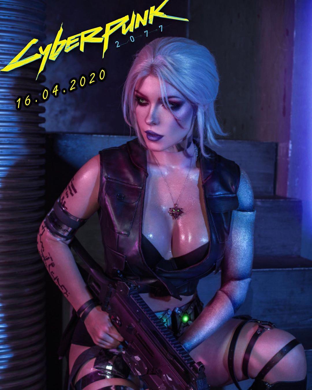 Irine Meier cosplay Cyberpunk 2077 1