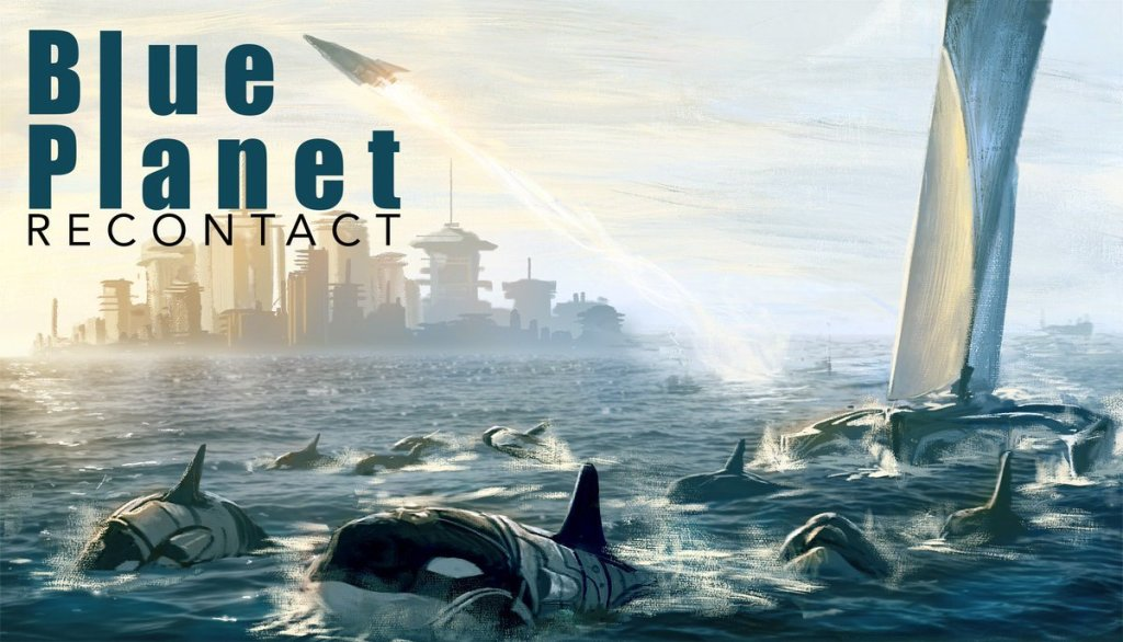 Blue Planet recontact Portada