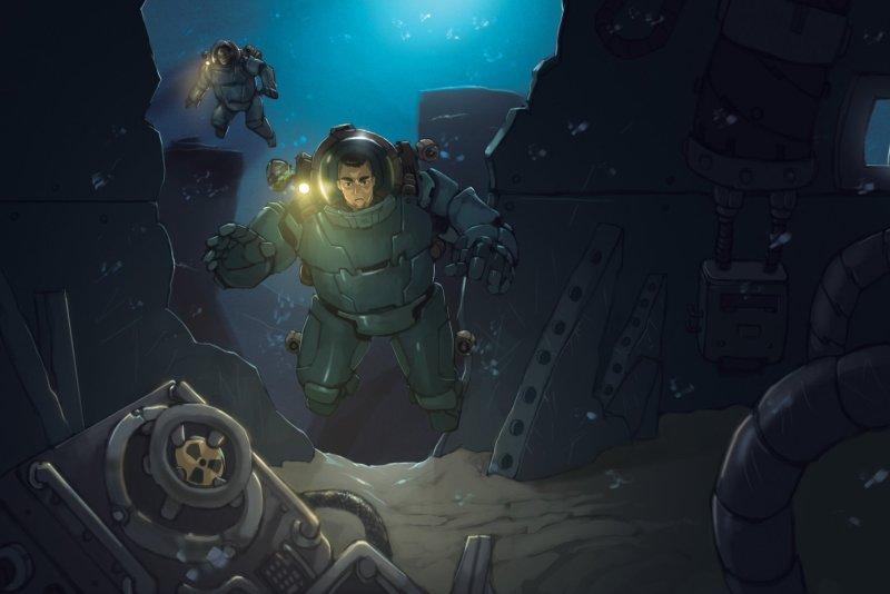 Deep Dark Blue Exploración