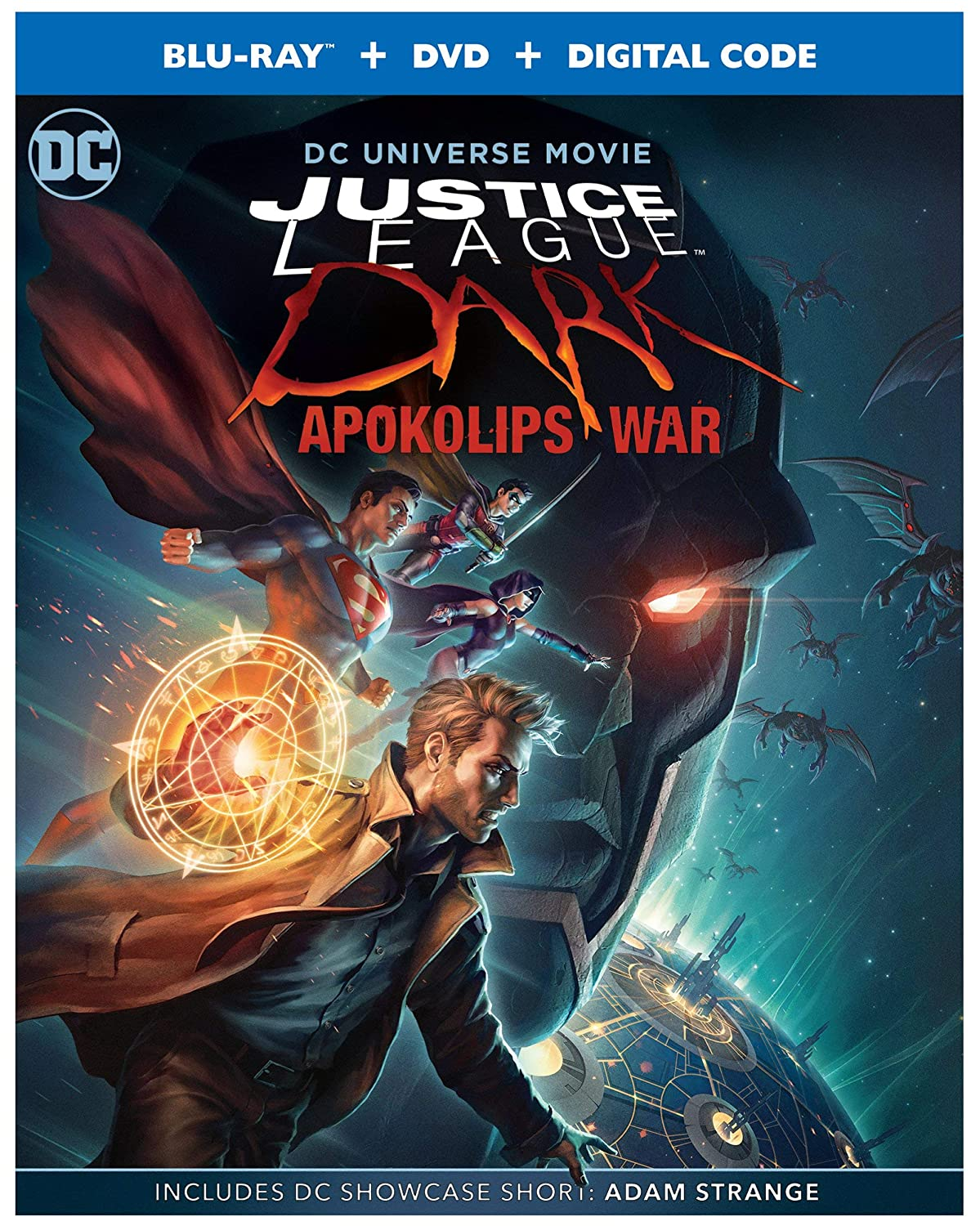 Justice League Dark Apokolips War