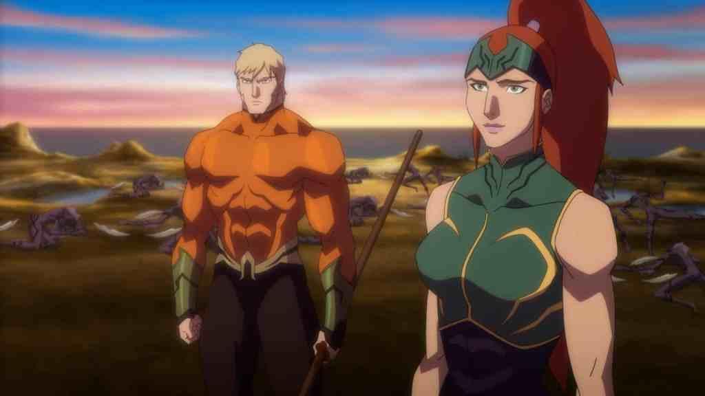 Justice League Throne of Atlantis Pareja