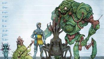 Knights of Invasion Criaturas