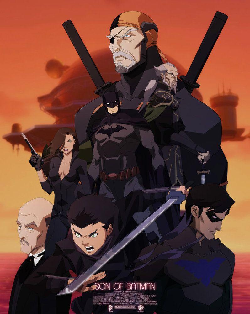Son of Batman Personajes