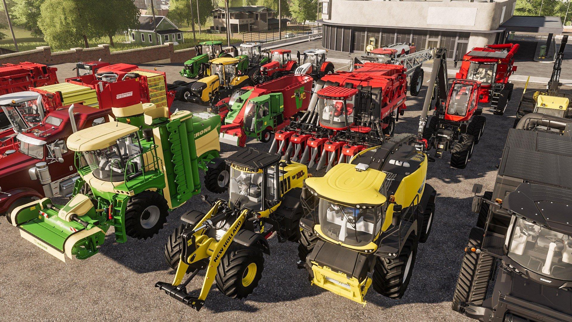 Maquinaria de Farming Simulator 2019