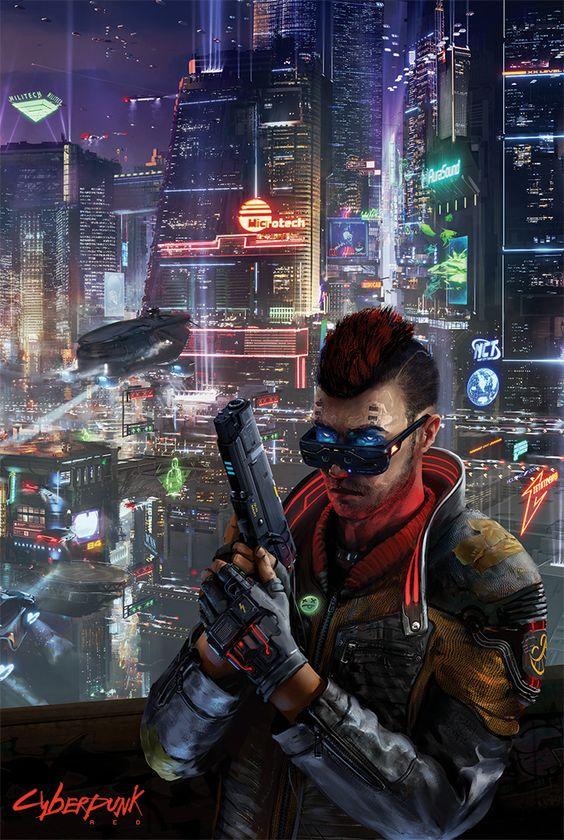 Cyberpunk RED Vertical