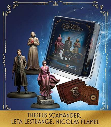HARRY POTTER - Miniature Adventure Game - Theseus, Leta, Flamel