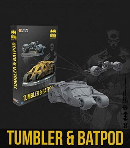 Tumbler and Batpod