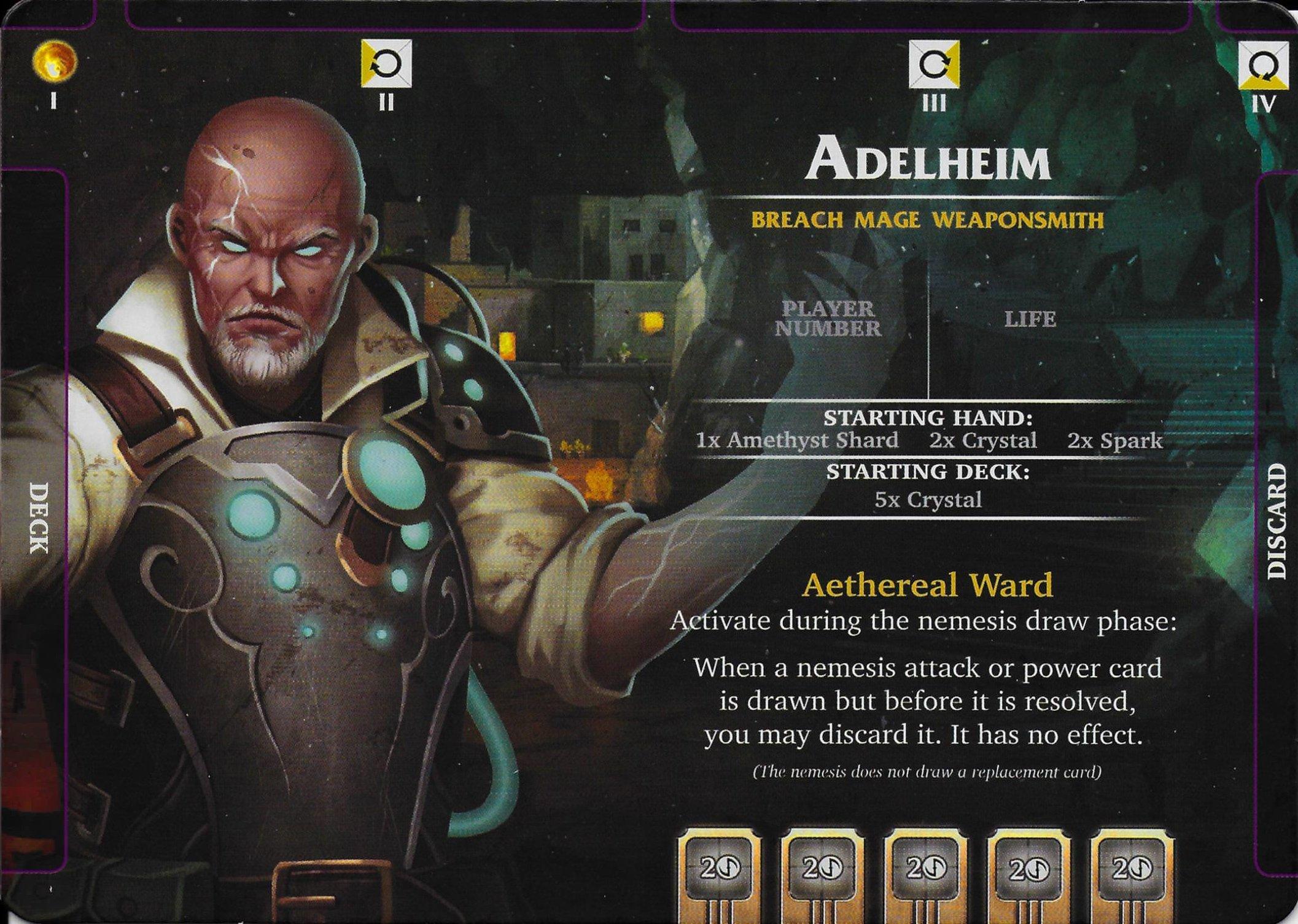 Adelheim Personaje