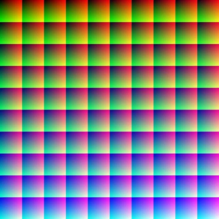 1 million colors