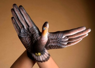 Body Painted Hand