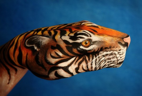 Hand Body Painted