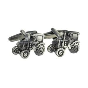 Gunmetal Farmers Tractors Cufflinks