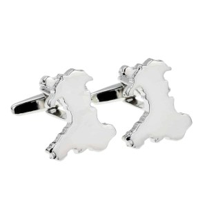 Map of Wales Cufflinks