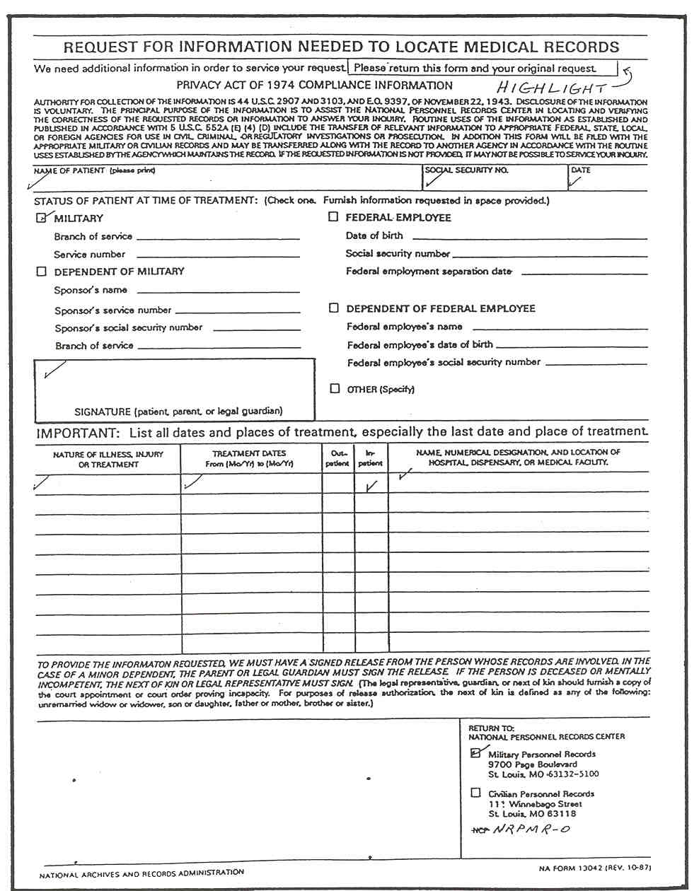 Medical Record Forms Template click here to download patient – Medical Record Form Template