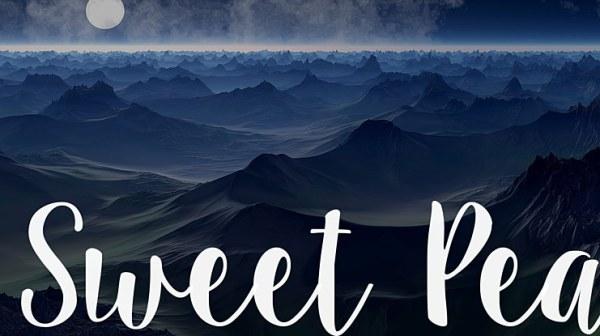 sweet pea font # 40