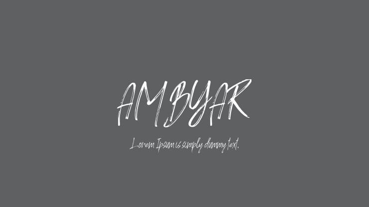 Ambyar Font Download Free For Desktop Webfont