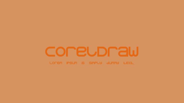 Download CorelDraw Font : Download Free for Desktop & Webfont