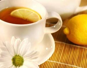 Ginger tea (Té de jengibre)