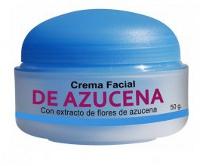 Crema facial azucena