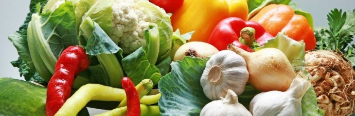 La verdura es muy sana