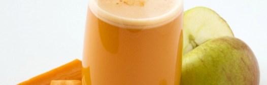 zumo zanahoria manzana
