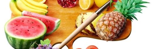 fruta comida variada