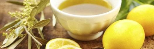 limon aceite de oliva unas