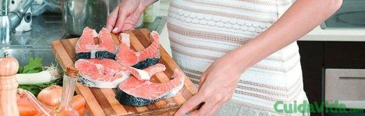 salmon durante embarazo