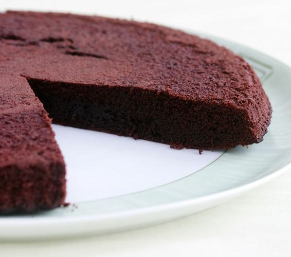 fondant choco - Zebra cake vanille-chocolat (Gâteau zébré / tigré)