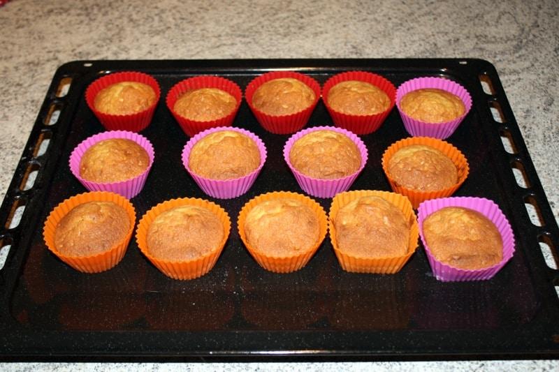 cupcakes banane speculoos prepa - Muffins à la banane et aux Speculoos