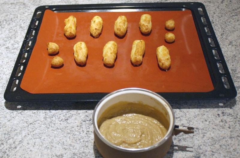 eclairs foire gras miel speculoos prepa - Eclairs au foie gras, miel et speculoos