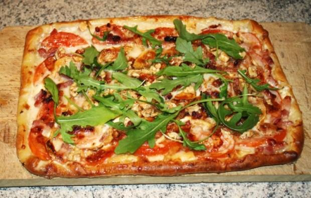 pizza chevre miel noix - Dossier : Pizza party !