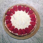 tarte fraise creme prepa 1 - Tarte aux fraises crémeuse façon fraisier