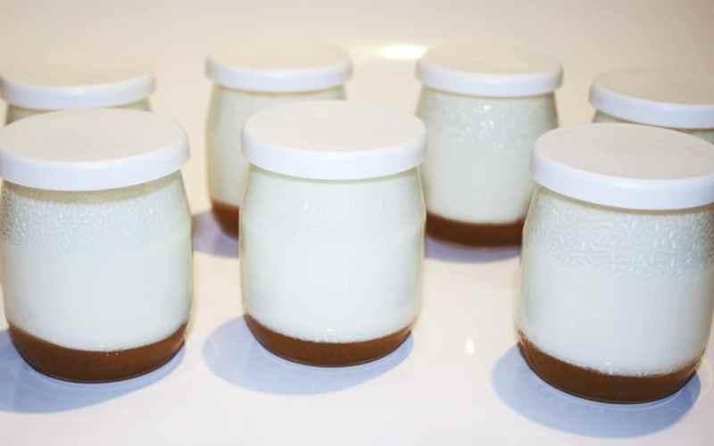 Yaourts au caramel au beurre salé