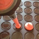 macarons tomate chèvre basilic prepa 2 - Pâte à Macarons facile