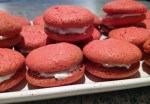 macarons tomate chC3A8vre basilic 3 - Macarons tomate, chèvre et basilic