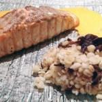 pave saumon sauce aurore 2 - Pavé de Saumon sauce Aurore