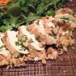 filet poulet gelee 2 - Blancs de poulet en gelée au chèvre et à l'estragon