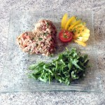 tartare thon tomates 1 - Tartare de tomates au thon