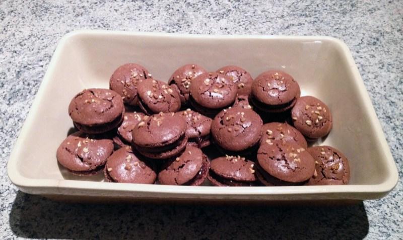 macarons pralinoise 2 - Zebra cake vanille-chocolat (Gâteau zébré / tigré)