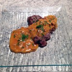 bavette sauce chasseur 1 - Bavette sauce chasseur