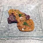 bavette sauce chasseur 3 - Bavette sauce chasseur