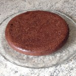 fondant choco bain marie 2 - Gâteau framboises et 2 chocolats