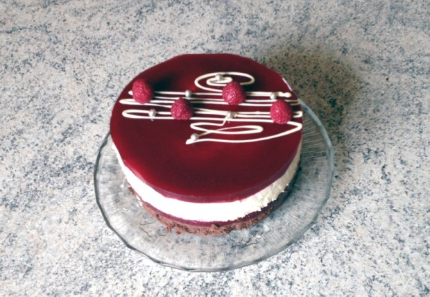 gateau framboises 2 chocolats 1 - Dossier : Gâteaux d'anniversaire