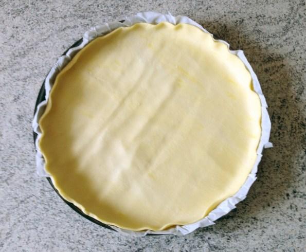 Recette de Tarte aux courgettes, parmesan, miel, sésame