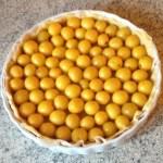 tarte mirabelles prepa 1 - Tarte sablée aux mirabelles